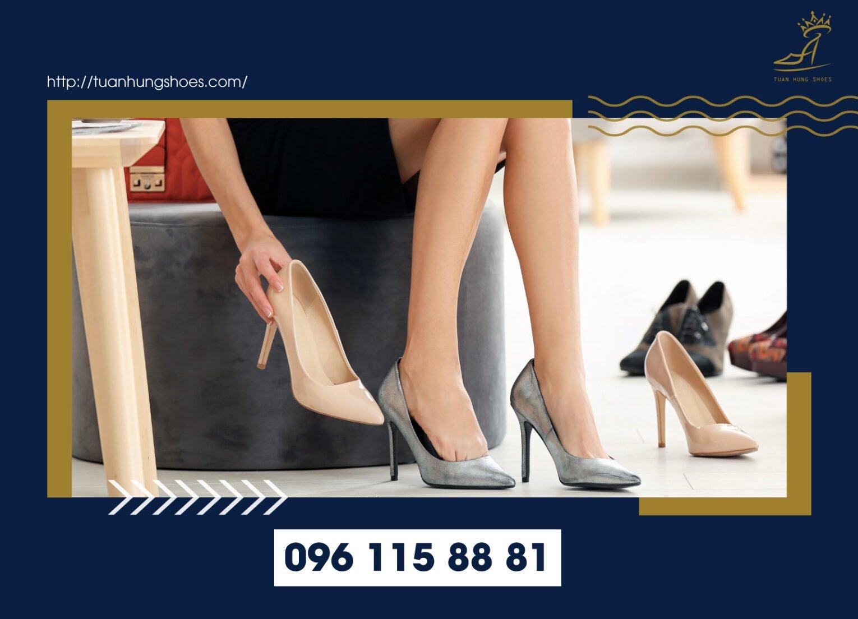 Một đôi giày phù hợp sẽ mang lại sự tự tin đáng kể cho người sử dụng