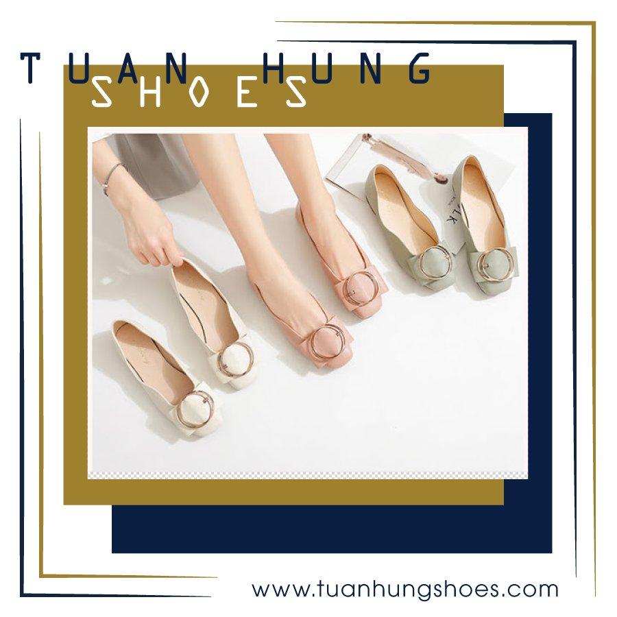 Giày búp bê là 1 trong những item được nhiều phái nữ yêu thích, ưa chuộng