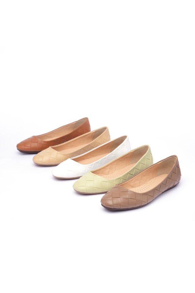 Giày Búp Bê Đan Rổ - BB012B0