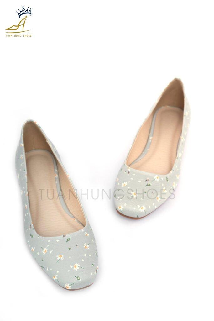 Giày Búp Bê Hoa Cúc - BB013B0