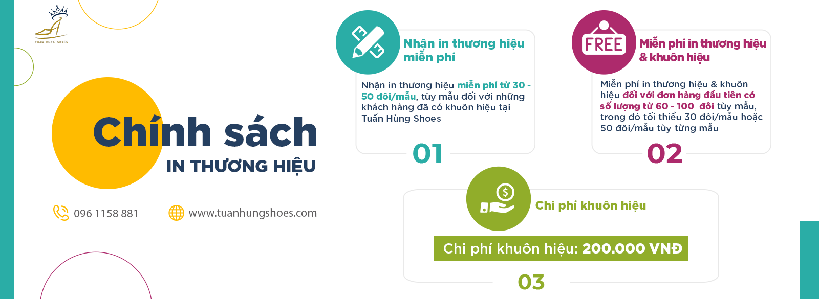 chinh sach in thuong hieu tuan hung shoes 1