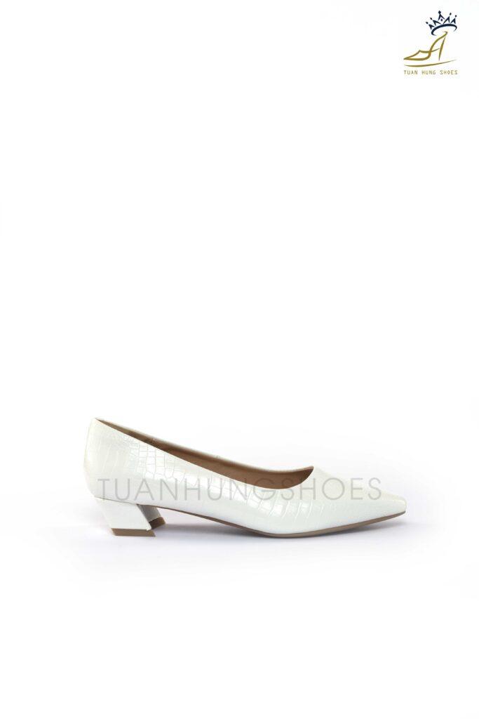 Giày búp bê cao gót