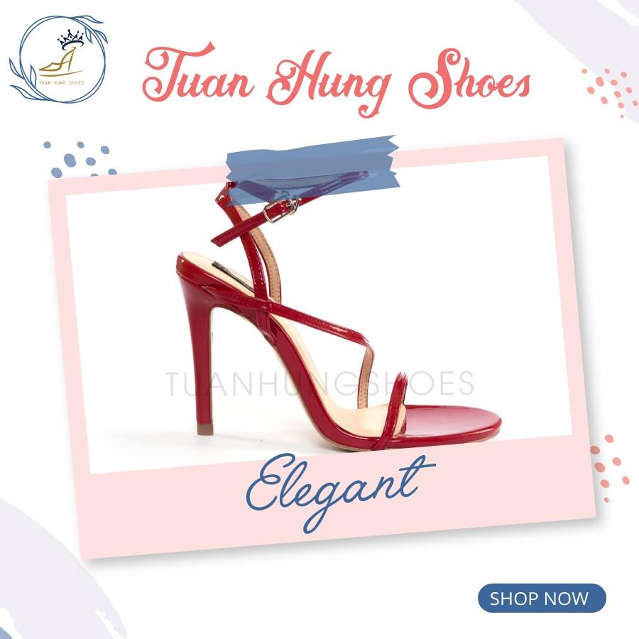 Mẫu giày nữ đẹp 2020 kiểu đan dây với thiết kế thời thượng, duyên dáng đã và đang trở thành lựa chọn được nhiều khách hàng quan tâm