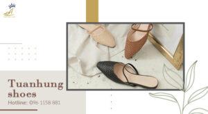 Thiết kế giày chuẩn xu hướng, kiểu mẫu cho thương hiệu cùng Tuấn Hùng Shoes